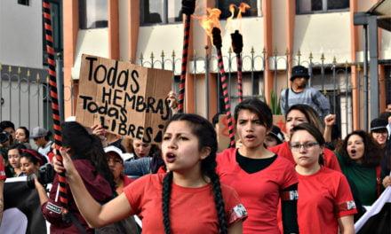 Su dolor las llevó a protestar
