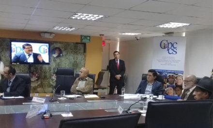 Afiliados y pensionistas son recibidos por el CPCCS-T