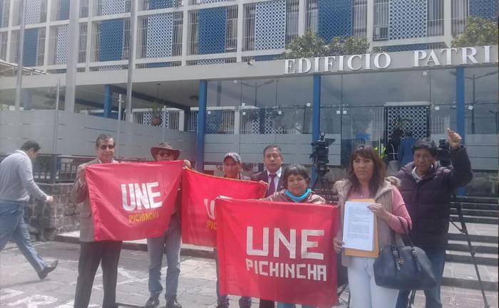 UNE presenta demanda penal contra Espinosa