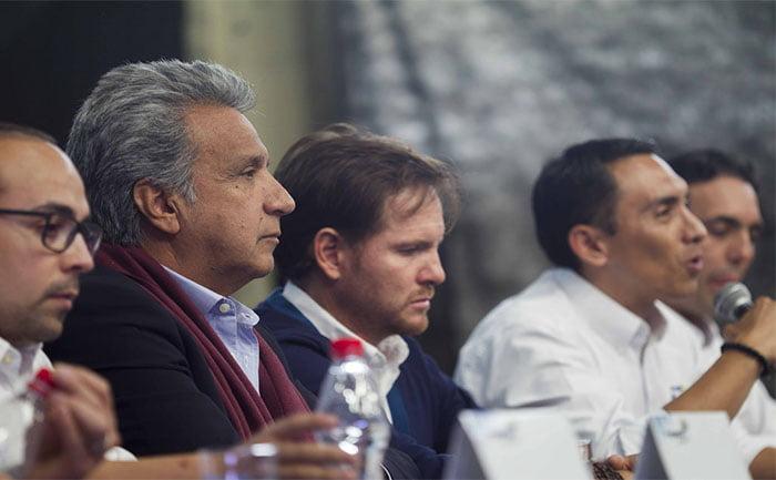 Moreno dejó claro que responde a los intereses oligárquicos.