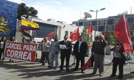 Unidad Popular exige medidas cautelares contra Rafael Correa