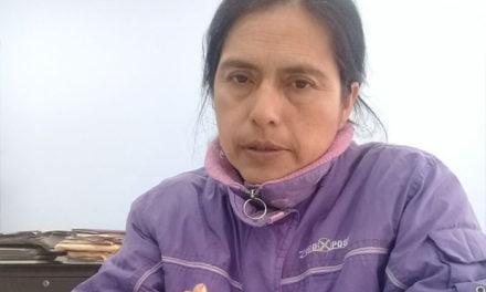Leonisa Guerrero, perseguida por defender a la Madre Tierra