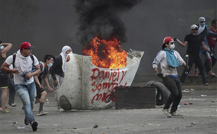 Pueblo nicaragüense en lucha