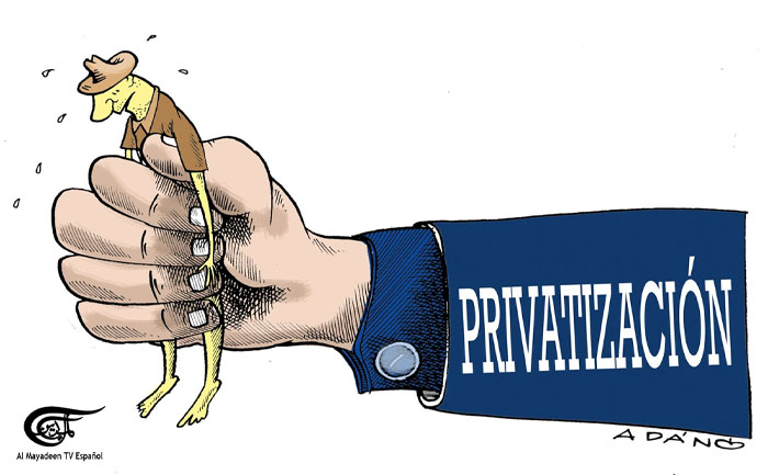 Siguen las privatizaciones