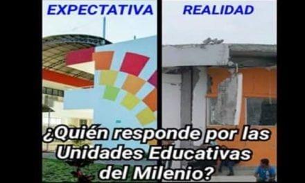¿QUIÉN RESPONDE POR LAS UNIDADES EDUCATIVAS DEL MILENIO?