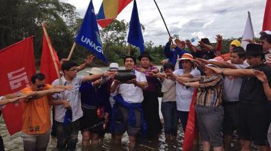 4 de noviembre inicia Marcha nacional por el agua y en resistencia al extractivismo