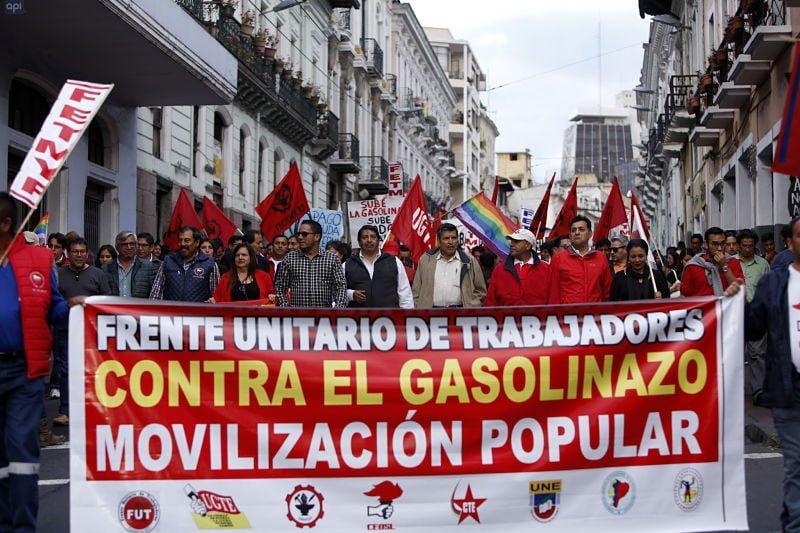 30 de enero movilización nacional contra paquetazo y la corrupción