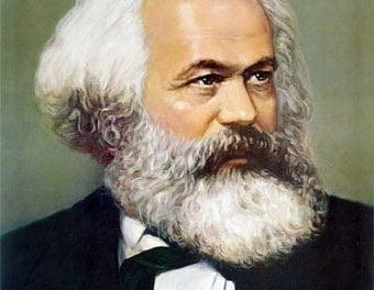 Ante la tumba de Marx.