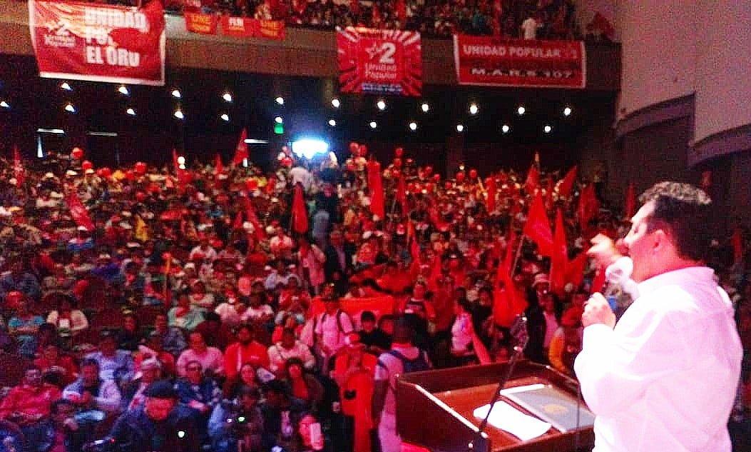 """Unidad Popular, """"un solo partido más grande y más fuerte""""."""