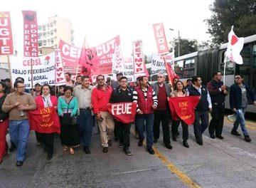 Lucha popular, No al FMI, ni Moreno, ni Correa