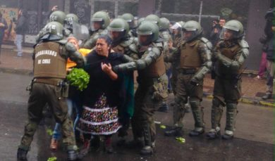 Las múltiples violencias del estado chileno contra el pueblo mapuche