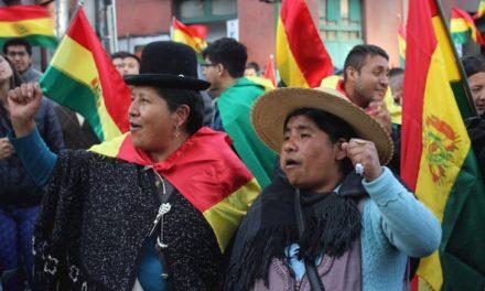 """Bolivia. """"luchar por  una alternativa patriótica, democrática y popular"""""""