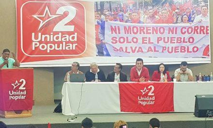 Unidad Popular, por candidatura indígena.