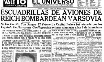 El fin de la guerra mundial en los medios ecuatorianos