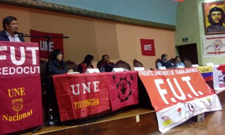 Convención del FUT,  derechos y un frente social y político.