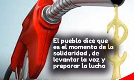 Subir los combustibles, un nuevo golpe al pueblo