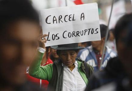 """El gobierno de la """"revolución ciudadana"""" al descubierto"""
