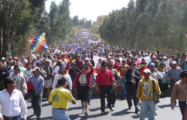 30 años del primer levantamiento indígena