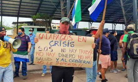 Galápagos en situación catastrófica