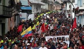 Organizaciones sociales de Quito por la vida.