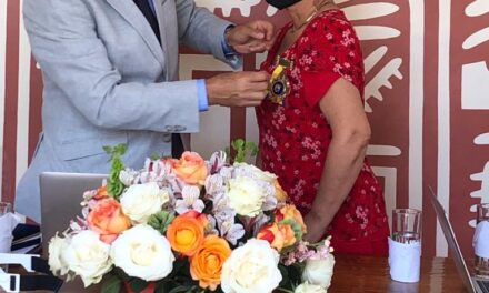 "Libertad Regalado, ilustre manabita recibió  presea ""Matilde Hidalgo de Prócel"""