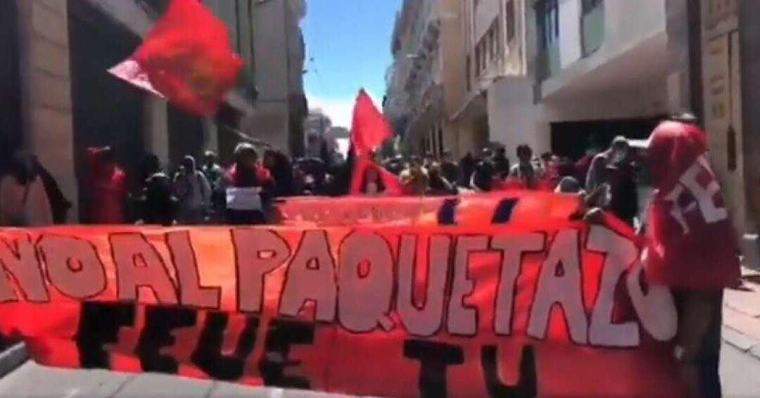 La FEUE rechaza  fallo de la Corte Constitucional.
