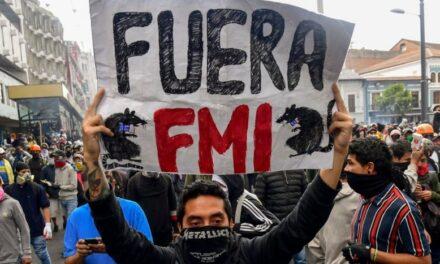 FMI diseña angustioso futuro para el Ecuador