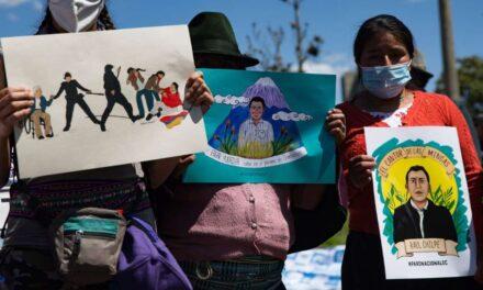 CONAIE  presentó demanda por delitos de Lesa Humanidad.