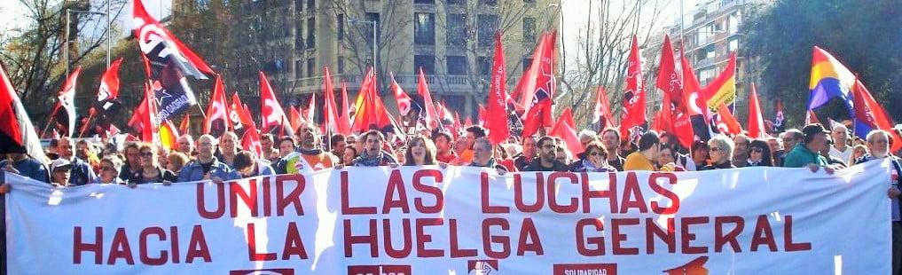 30 de octubre, huelga general en Madrid
