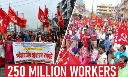 India: más de 250 millones de trabajadores y agricultores se unen ¡Toda la India, huelga!