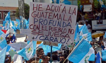 La movilización social de Guatemala
