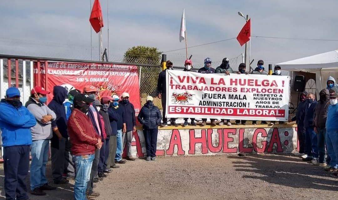 Ecuador: Gobierno arremete contra trabajadores de fábrica Explocen