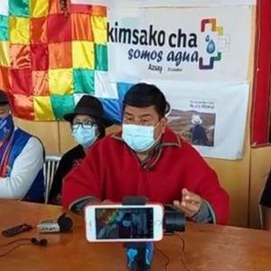 Ecuarunari votará nulo y desconoce autoridad de Jaime Vargas