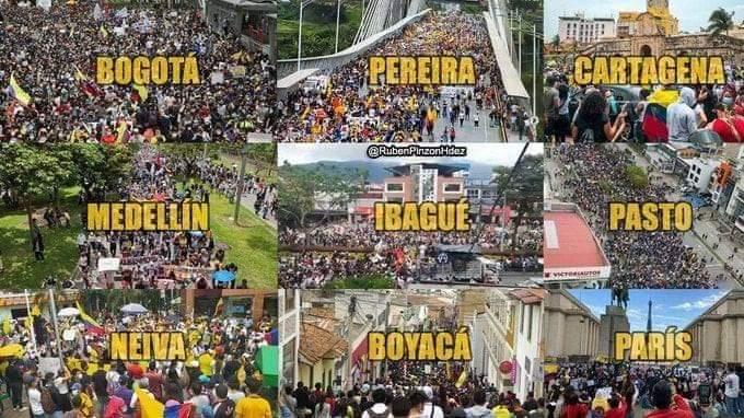 Victoria del pueblo colombiano contra el neoliberalismo