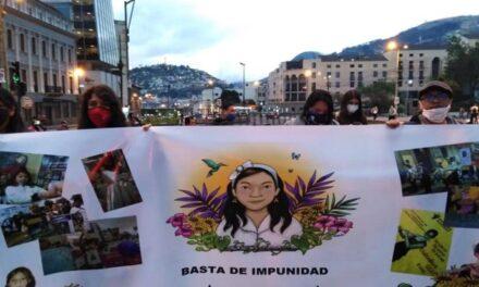 «El Estado debe respuestas sobre e feminicidio de Valentina Cocíos Montenegro»