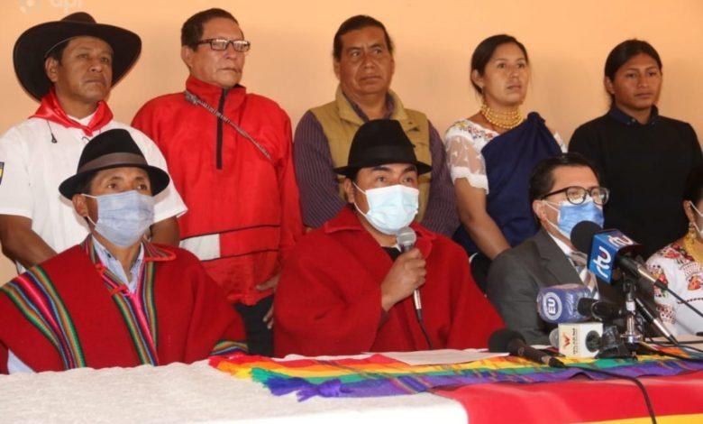 CONAIE, respalda paro campesino y huelga de hambre de los maestros