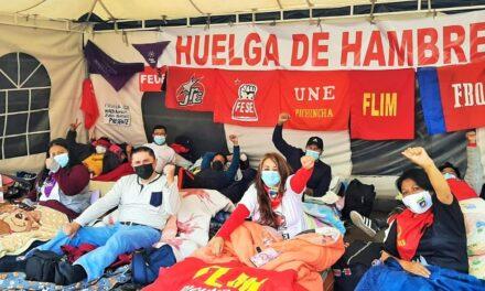Más provincias se sumarán a huelga de hambre de los maestros