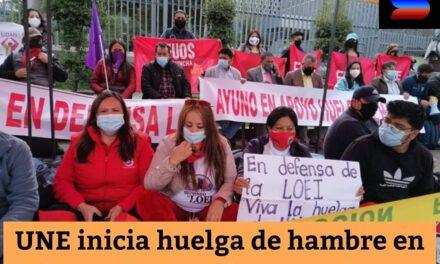 Ecuador: Huelga de hambre de los maestros