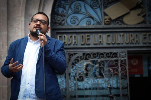 Fernando Cerón, nuevo presidente de la Casa de la Cultura Ecuatoriana
