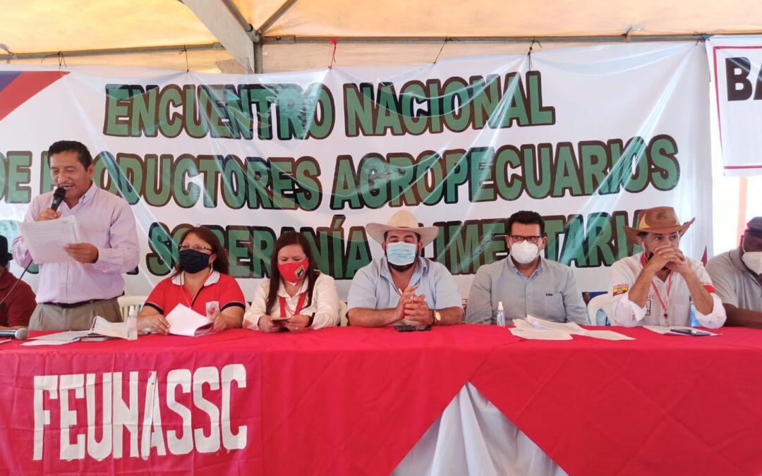 Encuentro nacional agrario